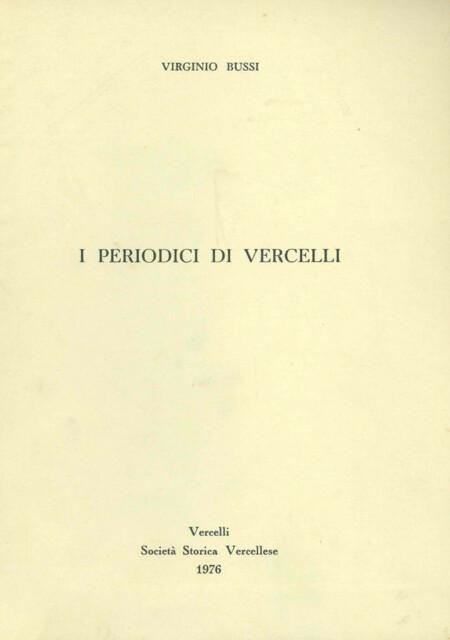 I periodici di Vercelli